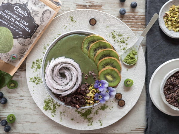 Spring Greening Smoothie Bowl