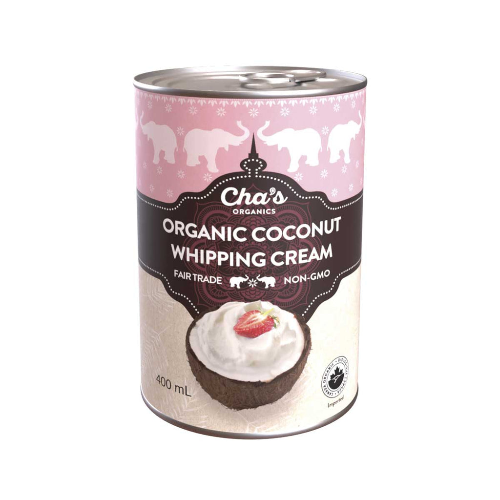 Coconut Whipping Cream (by the case)