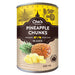 Pineapple Chunks (by the case)