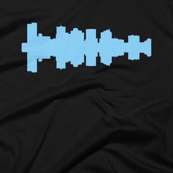 Phoenix - City Skyline Audio Wave T-Shirt