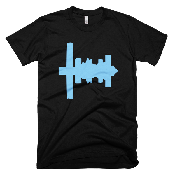 Salt Lake City - City Skyline Audio Wave T-Shirt