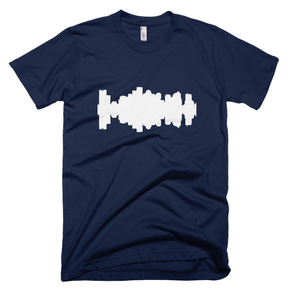 Boston - City Skyline Audio Wave T-Shirt