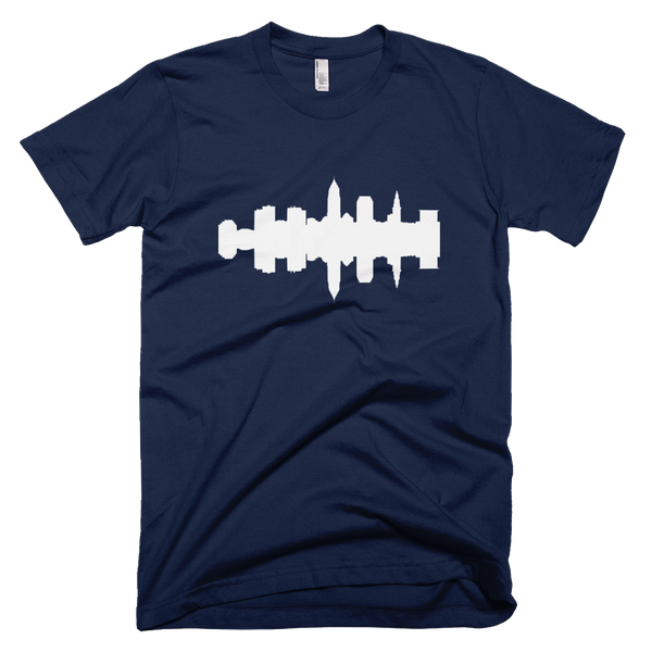 Cleveland - City Skyline Audio Wave T-Shirt