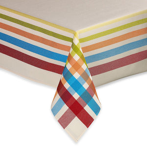 Multi-Color Table Cloth