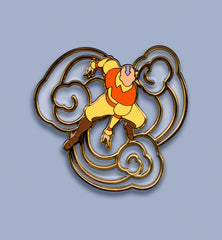 Aang Pin (Clear Version)