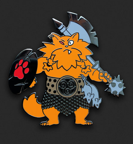 Orange Barbarian Cat - Denver Exclusive