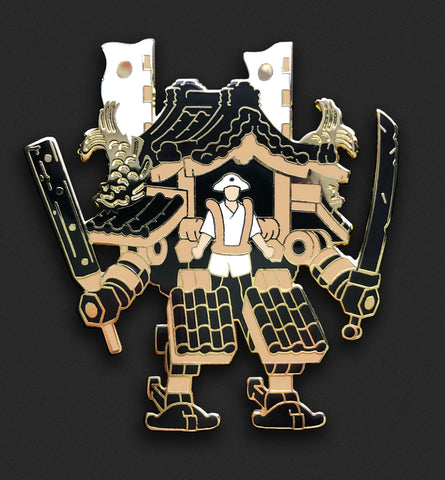 Edo Mech, Natural Wood - SDCC Exclusive