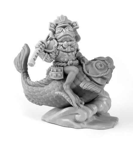 Frog Koi-Rider Mini Figure