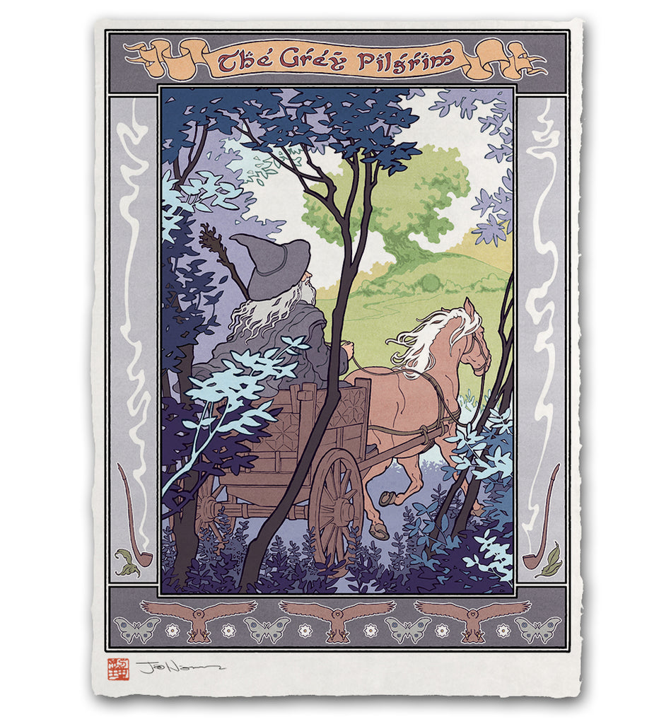 'The Grey Pilgrim' Giclée Print