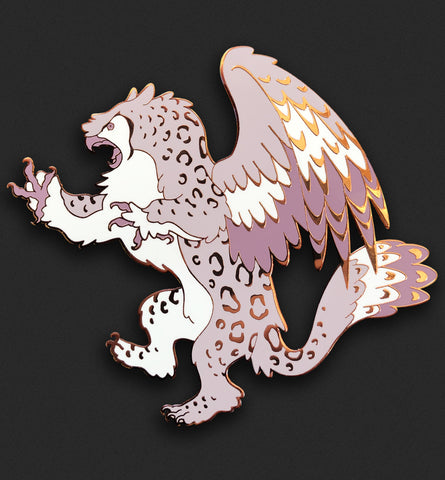 Snowy Owl Gryphon Pin ⭐ NYCC Exclusive