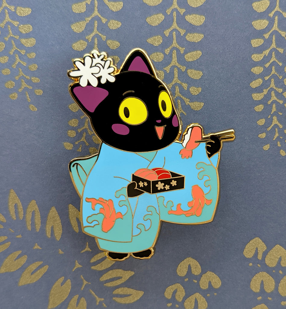 Black Kimono Cat, Denver Exclusive