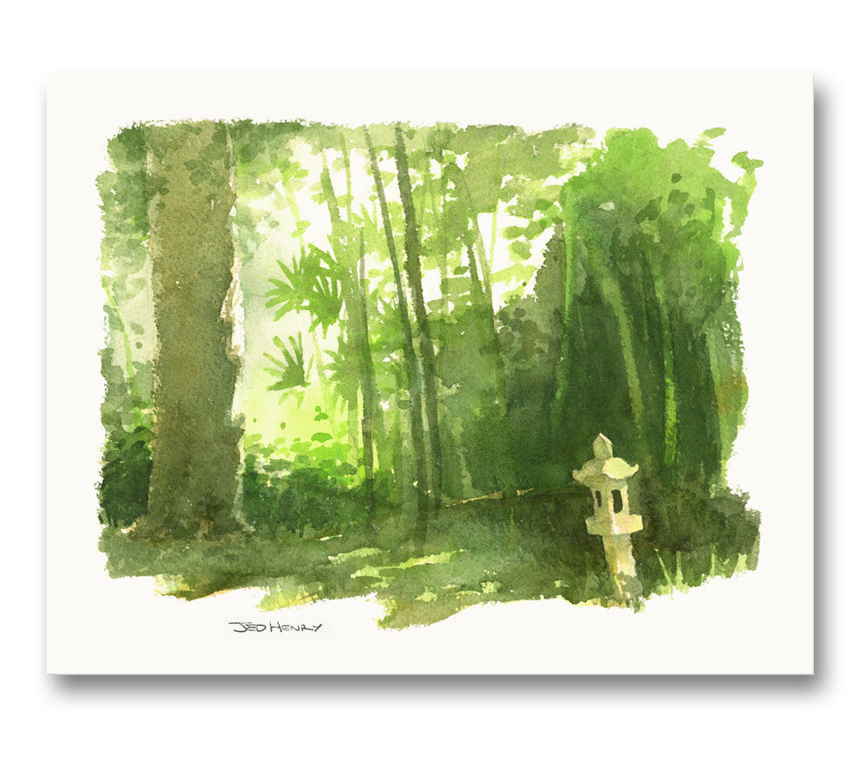 'Morning Grove' Giclee Print