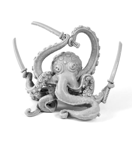 Octopus Swordsman Mini Figure