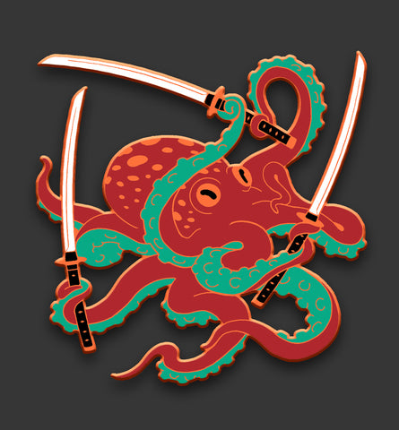 Red Octopus Swordsman (Rare Exclusive)