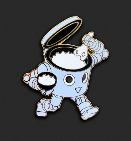 Rice Bot Pin