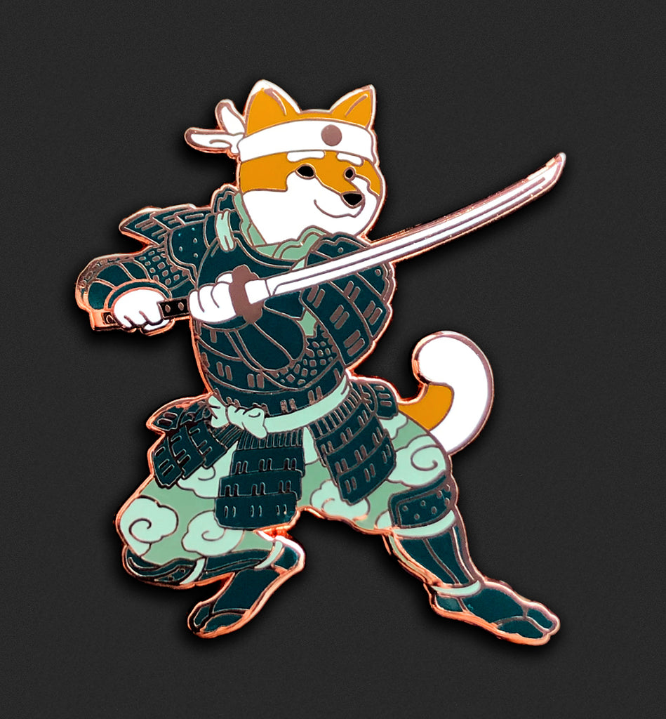 New Samurai Shiba - Orange Fur - Open Edition