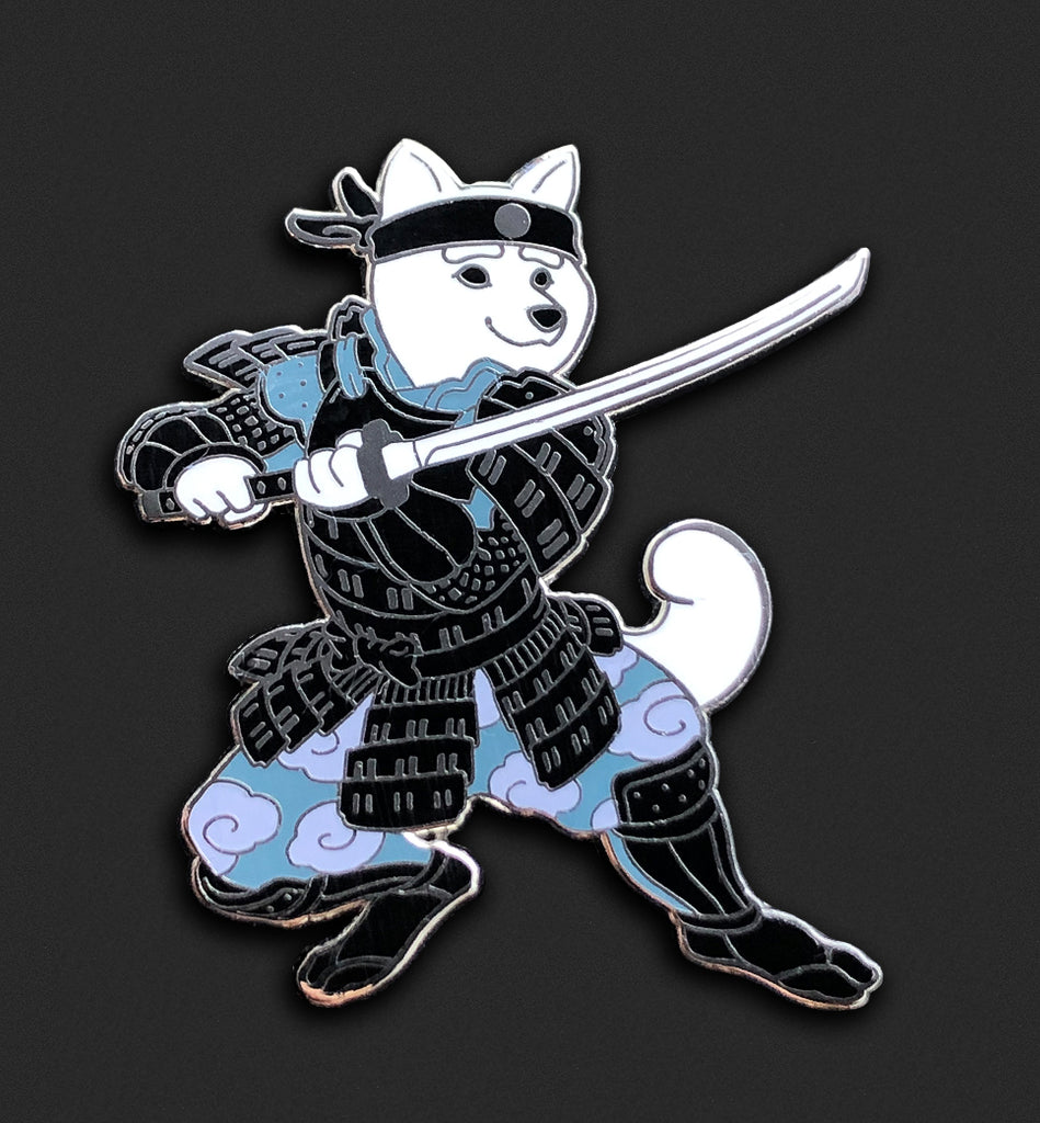 New Samurai Shiba - White Fur - Open Edition