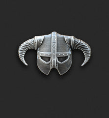 Iron Helmet Pin
