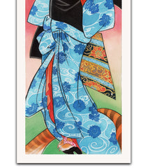 'Soba Blue Maiko' by Moira Hahn