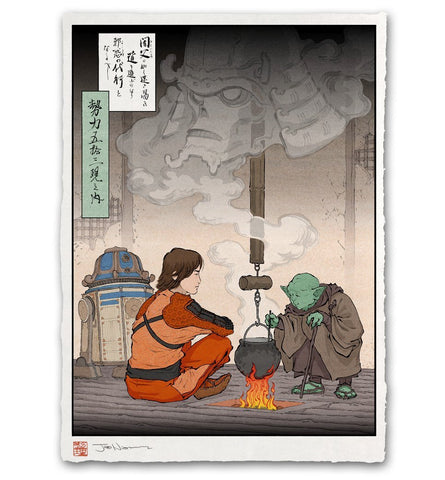'The Old Sage' Giclée Print