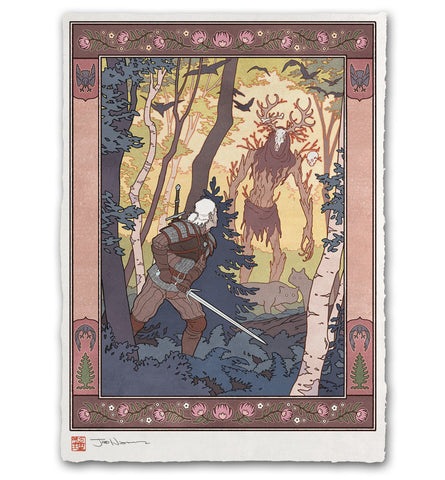 'Spirit of the Wild Wood' Giclée Print