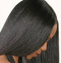 Brittle and Relaxed Hair