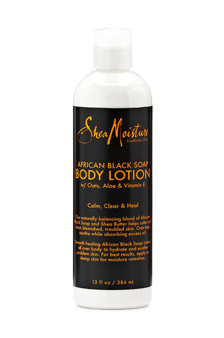 AFRICAN BLACK SOAP BODY LOTION ,  - Shea Moisture, Nijala
