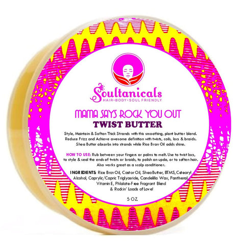 Mama Says Rock You Out- Twist Butter , Styling - Soultanicals, Nijala