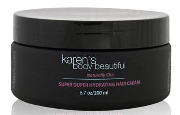 Super Duper Hydrating Hair Cream Creamy Coco Mango, Leave In - Karen's Body Beautiful, Nijala
