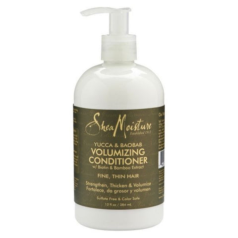 Yucca and Baobab Volumizing Conditioner , Conditionners - Shea Moisture, Nijala