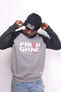 Winter Faith Gang Crewneck & Beanie