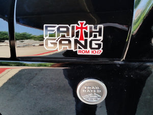 Faith Gang Decals
