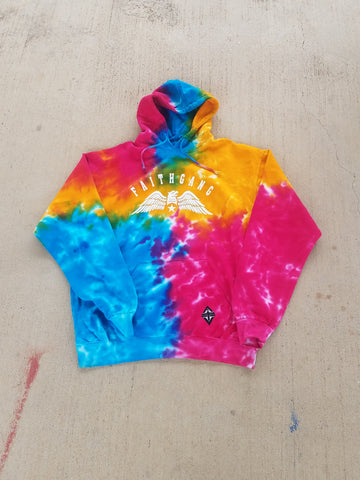 Faith Gang Eagle Unisex Rainbow Hoodie