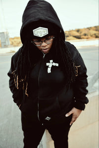 Have Faith Scrabble Zip Hoodie (Unisex)