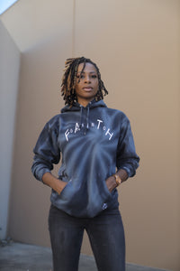 Faith Gang Arched Tie-Dye Pullover Hooded Sweatshirt (unisex)