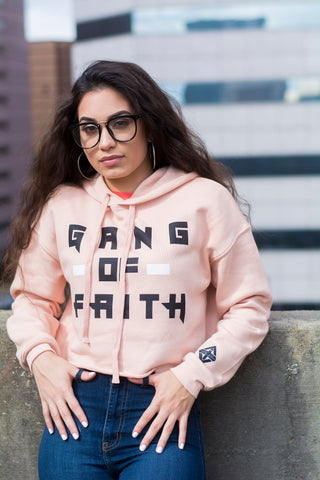 Gang of Faith Women's Cropped Hoodie