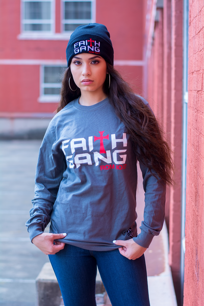 Faith Gang Long Sleeve T-Shirt