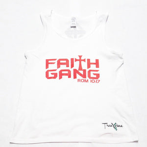Faith Gang Tank Top ( Multiple Color Option)