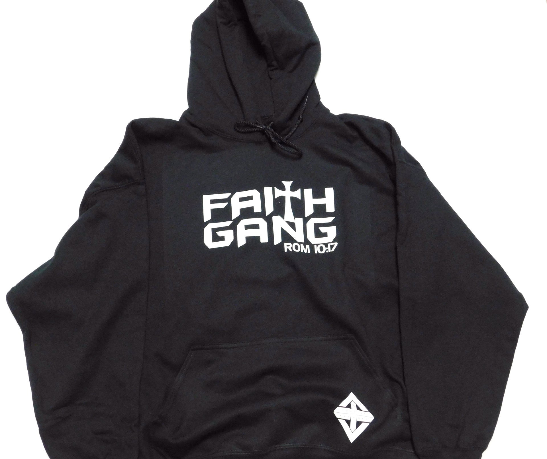 Faith Gang Black Hoodie (multiple color options)