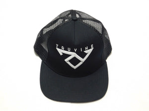 TruVine Black Trucker Cap
