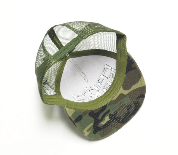 Faith Gang Camo Snapback