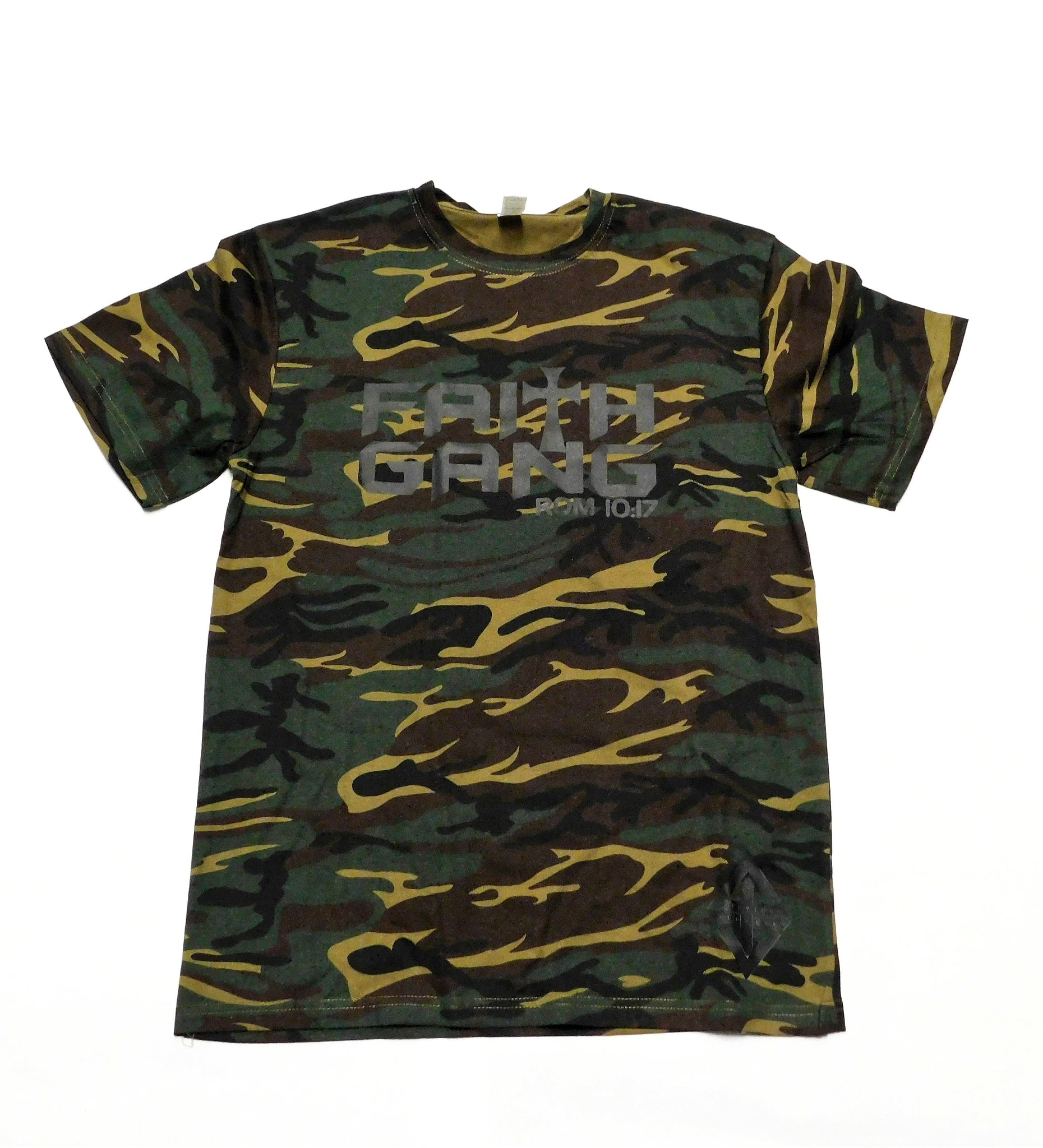 Faith Gang Camo Tee