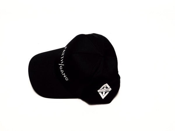 Faith/Gang Black 5 Panel Cap