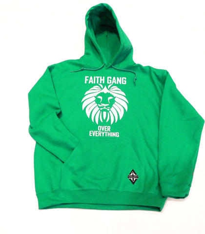 Faith Gang Over Over Everything (multiple color options) White Design