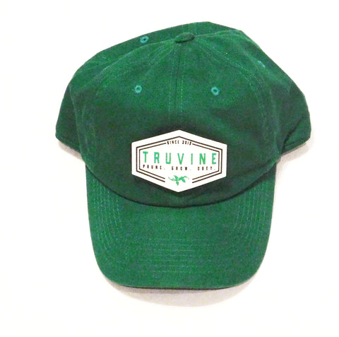 Prune.Grow.Obey. Green Dad Cap
