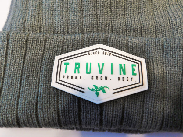 TruVine PVC Rubber Patch 3M Beanie