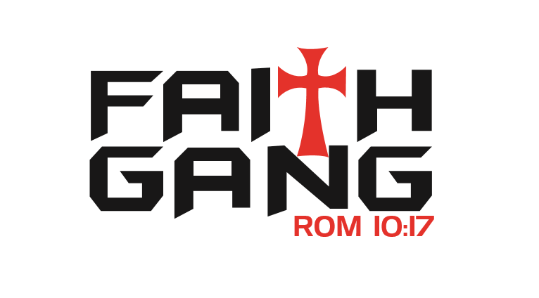 Faith Gang Decals (Large)