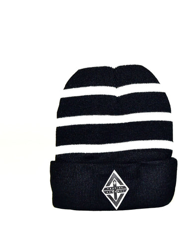 TruVine  Striped Beanie
