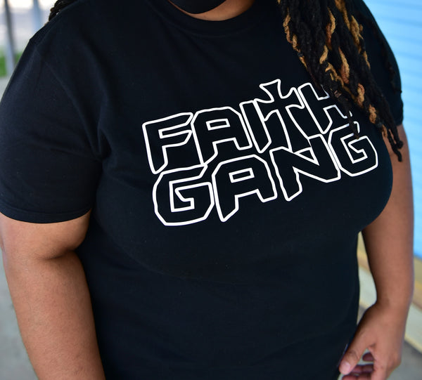 Faith Gang Outline unisex tee (multiple color options)
