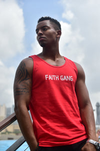 Faith Gang Red Tanktop (multiple color options)